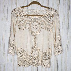 hint of mint Tops - Hint of Mint Crochet Top